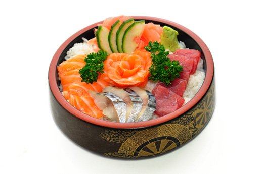 E1  Chirashi Don (assortiment de poisson)